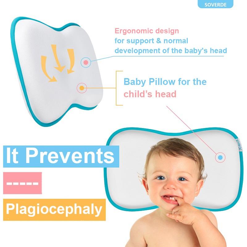 flat head baby pillow-plagiocephaly-1