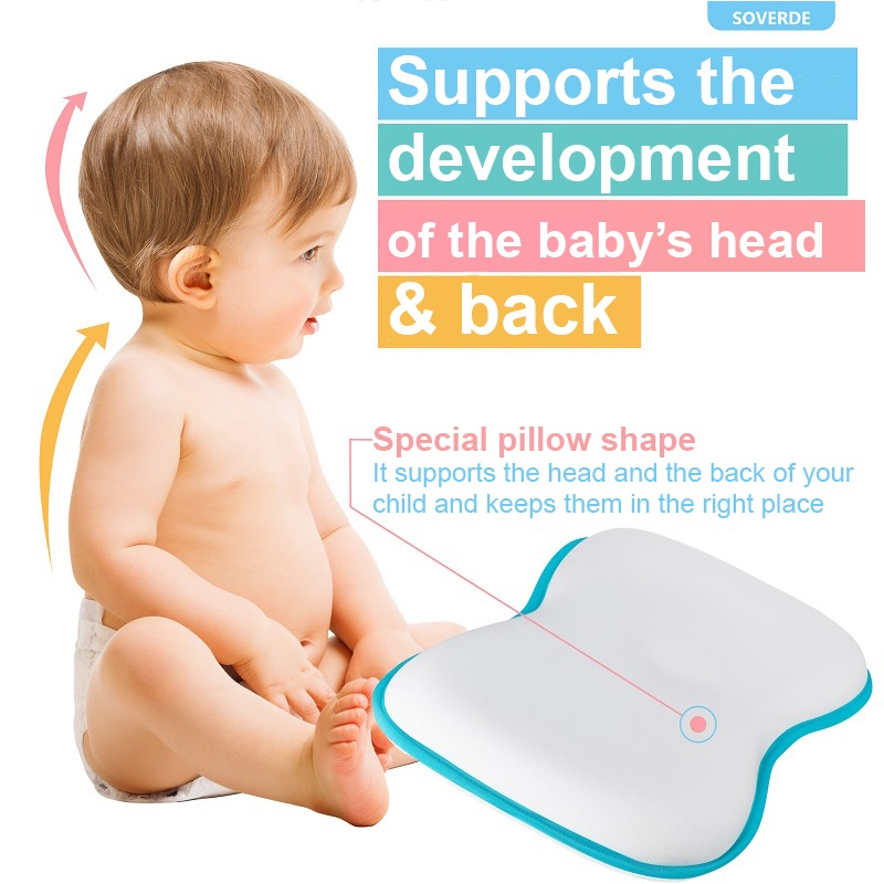 flad head baby pillow for babies