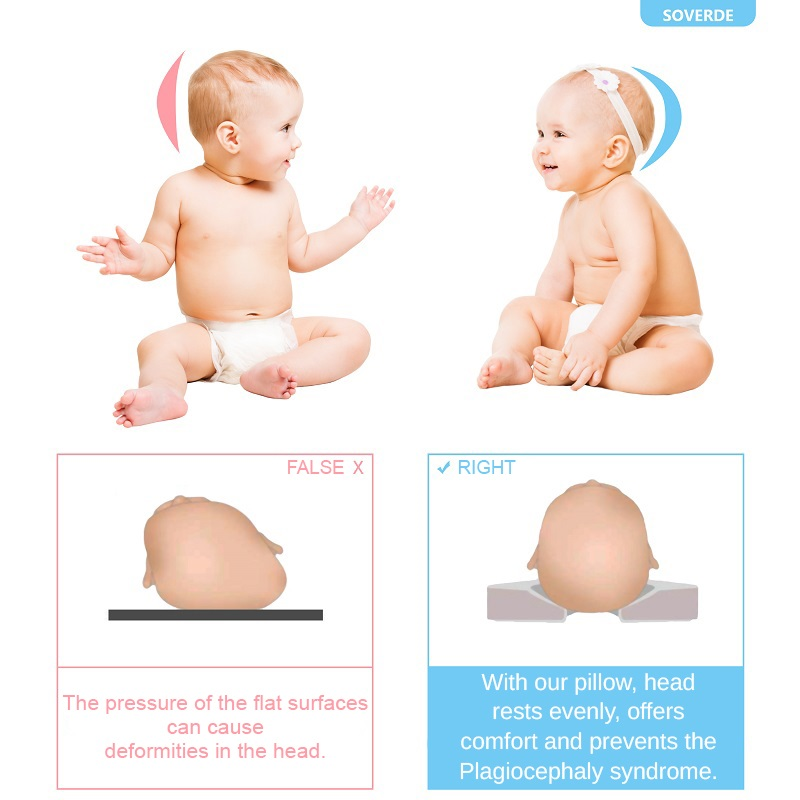 flad head baby pillows for your child